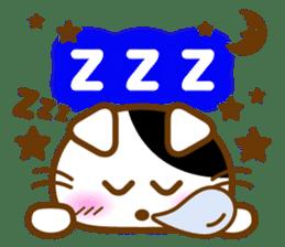 Cute kitty cats sticker #5830661