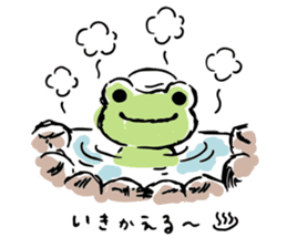 pickles the frog sticker #5833459