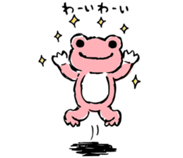 pickles the frog sticker #5833481