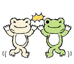 pickles the frog sticker #5833483