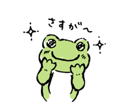 pickles the frog sticker #5833486