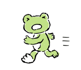 pickles the frog sticker #5833492