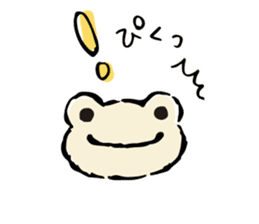 pickles the frog sticker #5833496