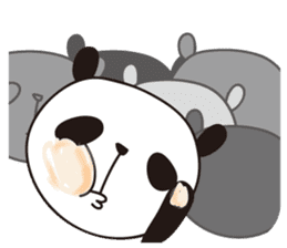 papipupe panda sticker #5837228