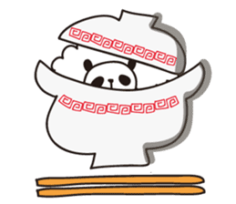 papipupe panda sticker #5837230