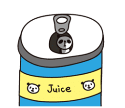 papipupe panda sticker #5837231