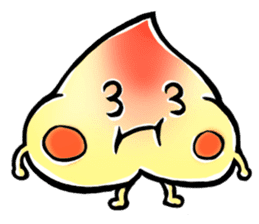 Peach Bun Bun Daily Life sticker #5837917