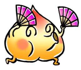 Peach Bun Bun Daily Life sticker #5837942
