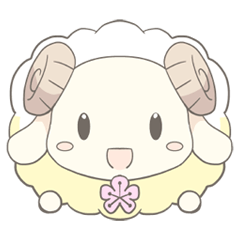 Plum blossom Sheep