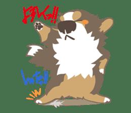 BerneseMountainDog-kurukuru no shippo- sticker #5839556