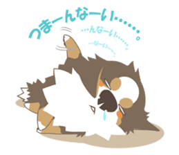 BerneseMountainDog-kurukuru no shippo- sticker #5839562