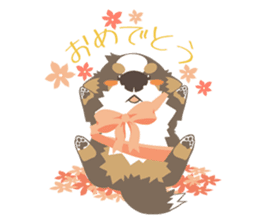 BerneseMountainDog-kurukuru no shippo- sticker #5839570