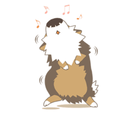 BerneseMountainDog-kurukuru no shippo- sticker #5839573