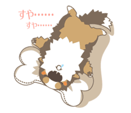 BerneseMountainDog-kurukuru no shippo- sticker #5839577