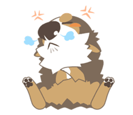 BerneseMountainDog-kurukuru no shippo- sticker #5839585