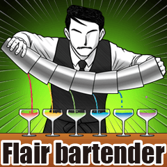 Flair bartender