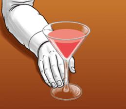 Flair bartender sticker #5839874