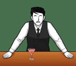Flair bartender sticker #5839875