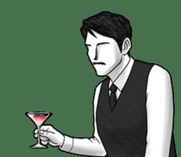 Flair bartender sticker #5839881
