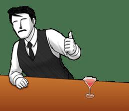 Flair bartender sticker #5839896