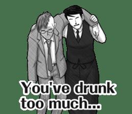 Flair bartender sticker #5839907
