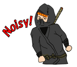 "Ninja ""Shinobu"" -English edition- sticker #5841342"