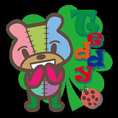 Teddy's Sticker