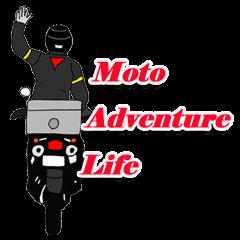 Motorcycle Adventure life