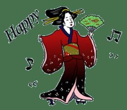 UKIYOE JAPAN English version sticker #5847747