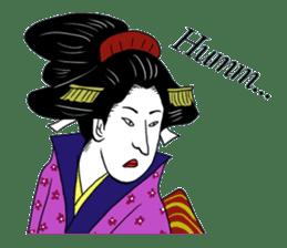 UKIYOE JAPAN English version sticker #5847751