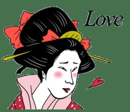 UKIYOE JAPAN English version sticker #5847754
