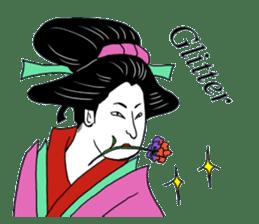 UKIYOE JAPAN English version sticker #5847759