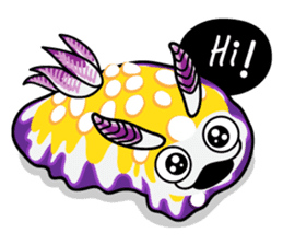Scuba Gang - Nudibranch lovers sticker #5848490