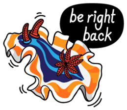 Scuba Gang - Nudibranch lovers sticker #5848514