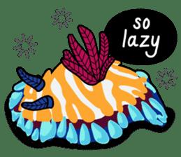Scuba Gang - Nudibranch lovers sticker #5848523