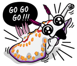 Scuba Gang - Nudibranch lovers sticker #5848525