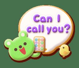 Animal Cookies sticker #5849187