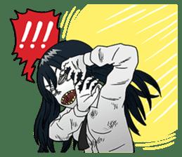 Zombie Days 2 : CAT cute zombies sticker #5853181