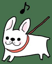 Happy French Bulldog sticker #5855616