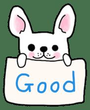 Happy French Bulldog sticker #5855617