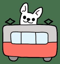 Happy French Bulldog sticker #5855620