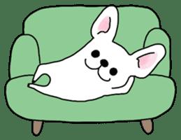 Happy French Bulldog sticker #5855621