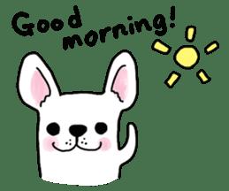 Happy French Bulldog sticker #5855633