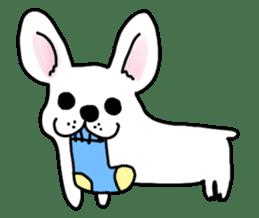Happy French Bulldog sticker #5855635