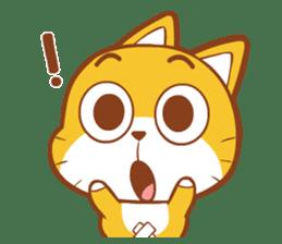 Little sweet cat baby sticker #5857547