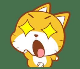Little sweet cat baby sticker #5857554