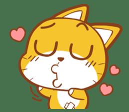 Little sweet cat baby sticker #5857556