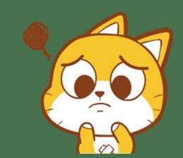 Little sweet cat baby sticker #5857559