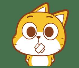 Little sweet cat baby sticker #5857565