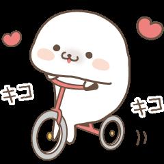 Sticker of a cute seal2